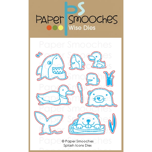Paper Smooches SPLASH ICONS Wise Dies M1D428 Preview Image