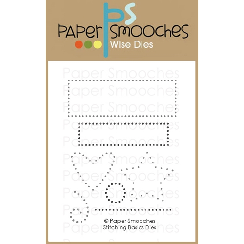 Paper Smooches STITCHING BASICS Wise Dies M1D429 Preview Image