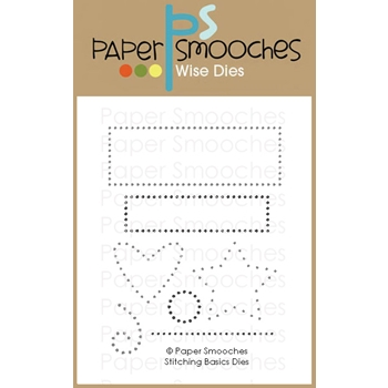 Paper Smooches STITCHING BASICS Wise Dies M1D429