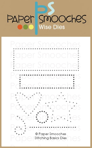 Paper Smooches STITCHING BASICS Wise Dies M1D429 zoom image