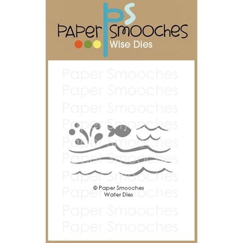 Paper Smooches WATER Wise Dies M1D431 Preview Image