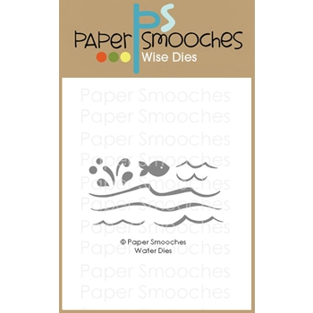Paper Smooches WATER Wise Dies M1D431