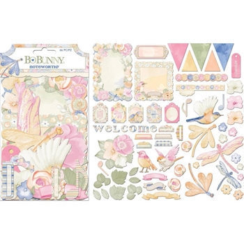 BoBunny HARMONY Die Cuts Noteworthy 7310468