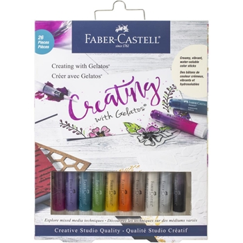 Faber-Castell CREATING WITH GELATOS 770413t