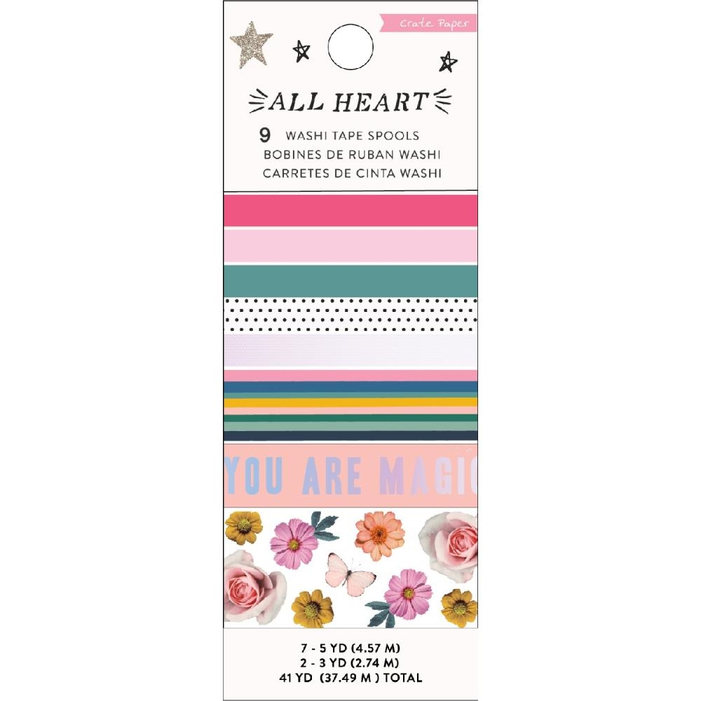 Crate Paper ALL HEART Washi Tape 350864 zoom image