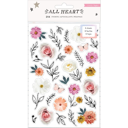 Crate Paper ALL HEART Sticker Book 350865 Preview Image