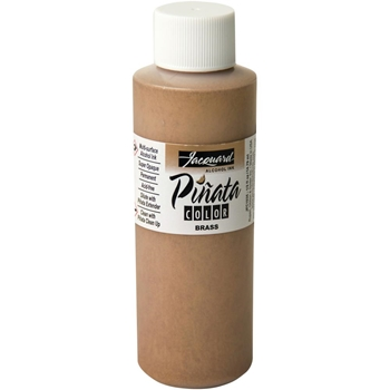 Jacquard BRASS Pinata Color Alcohol Ink 4oz jfc3035