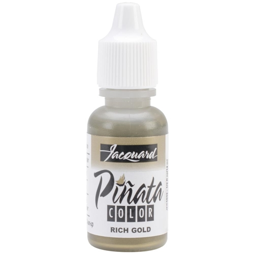 Jacquard RICH GOLD Pinata Color Alcohol Ink 0.5oz jfc1032 Preview Image