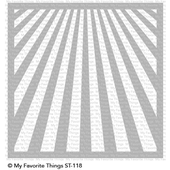 My Favorite Things RAY OF LIGHT Mix-ables Stencil ST118