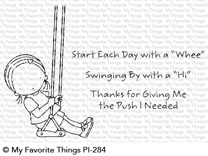 Pure Innocence START EACH DAY WITH A WHEE Clear Stamps PI284 Preview Image