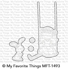 My Favorite Things SWEET FRIENDS Die-Namics MFT1493
