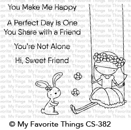 My Favorite Things SWEET FRIENDS Clear Stamps CS382 zoom image