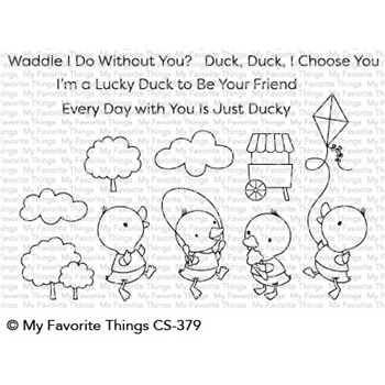 My Favorite Things JUST DUCKY Clear Stamps CS379