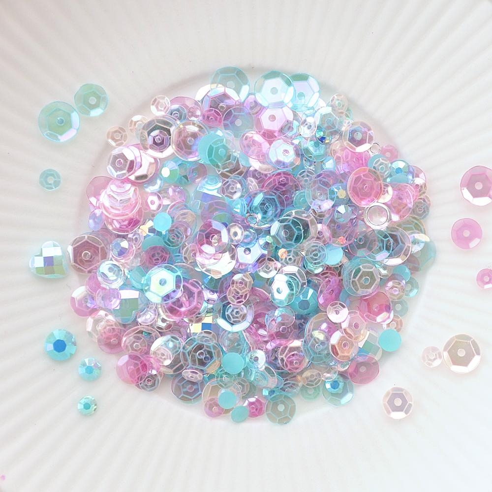 Little Things From Lucy's Cards SHE'S SO LOVELY Sparkly Shaker Mix LB227 zoom image