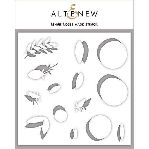 Altenew RENNIE ROSES Mask Stencil ALT3152 Preview Image