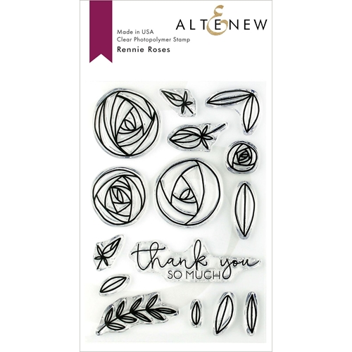 Altenew RENNIE ROSES Clear Stamps ALT3150 Preview Image
