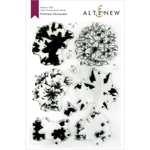 Altenew PRETTIEST POMANDER Clear Stamps ALT3147 Preview Image