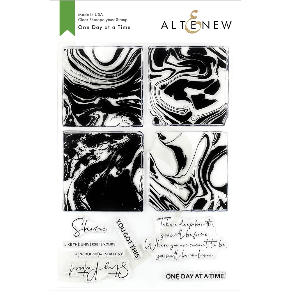 Altenew ONE DAY AT A TIME Clear Stamps ALT3146 zoom image