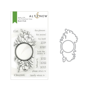 Altenew BOOK CLUB Stamp and Die Bundle ALT3145