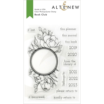 Altenew BOOK CLUB Clear Stamps ALT3143