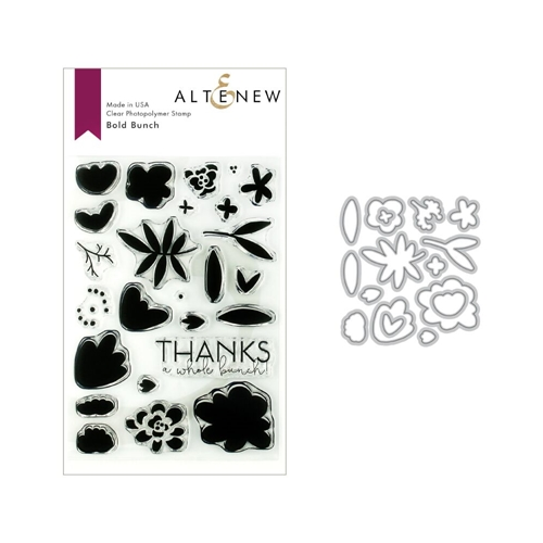Altenew BOLD BUNCH Stamp and Die Bundle ALT3141 Preview Image
