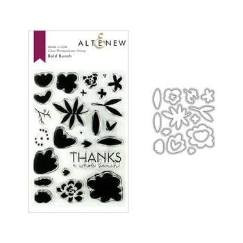 Altenew BOLD BUNCH Stamp and Die Bundle ALT3141