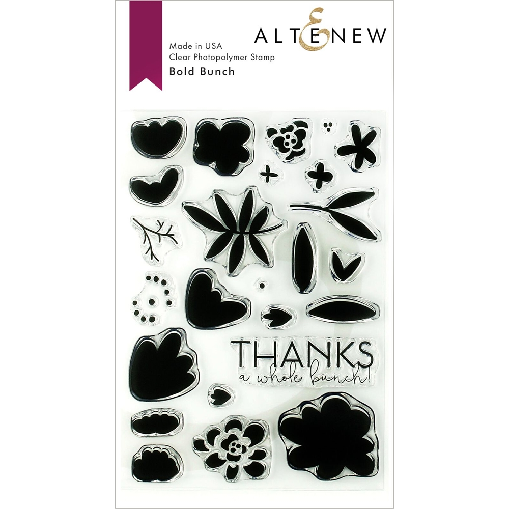 Altenew BOLD BUNCH Clear Stamps ALT3138 zoom image