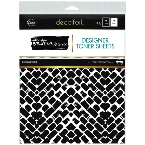 Therm O Web Brutus Monroe COBBLESTONE Deco Foil Toner Sheets 19021 Preview Image