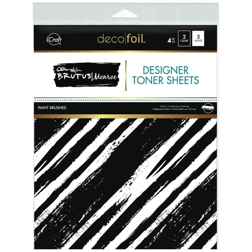 Therm O Web Brutus Monroe PAINT BRUSHED Deco Foil Toner Sheets 19023 Preview Image