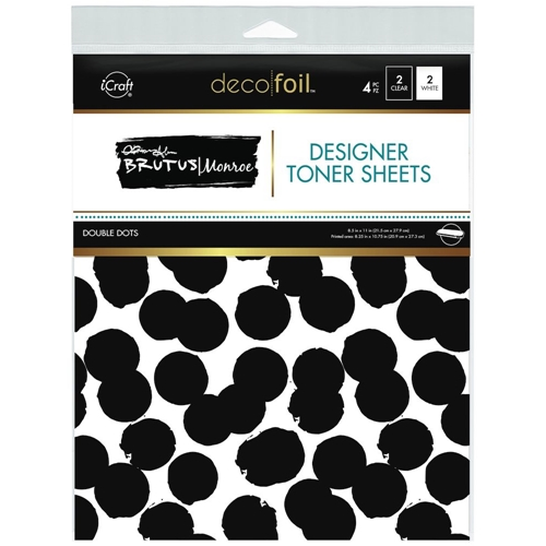 Therm O Web Brutus Monroe DOUBLE DOTS Deco Foil Toner Sheets 19026 Preview Image