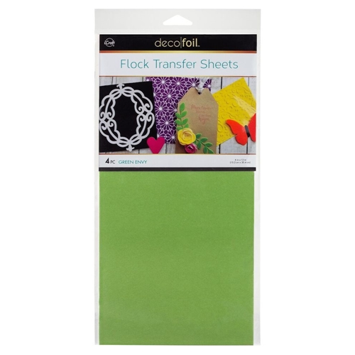 Therm O Web GREEN ENVY Flock Transfer Sheets Deco Foil 5536 Preview Image