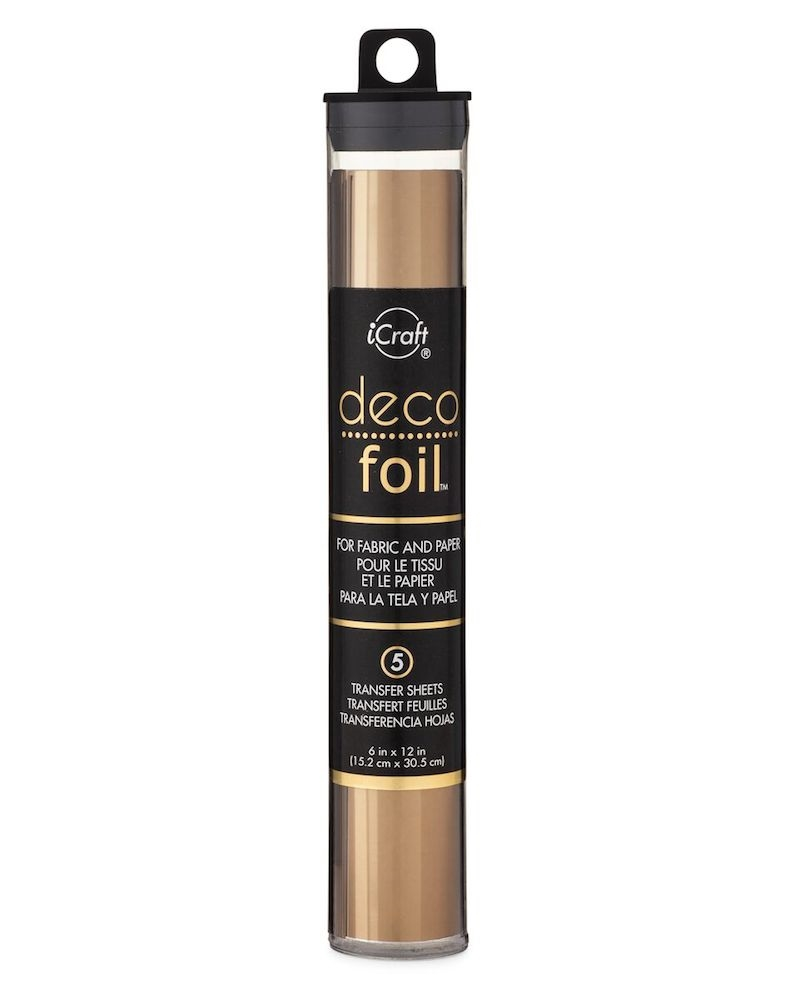 Therm O Web BRONZE Deco Foil Transfer Sheets iCraft 51335 zoom image