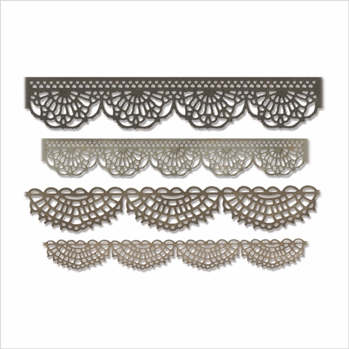 Tim Holtz Sizzix CROCHET Thinlits Dies 664178 Preview Image