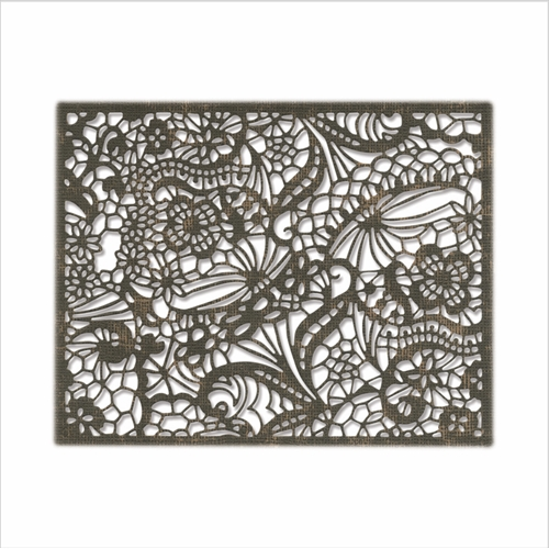 Tim Holtz Sizzix INTRICATE LACE Thinlits Dies 664181 Preview Image