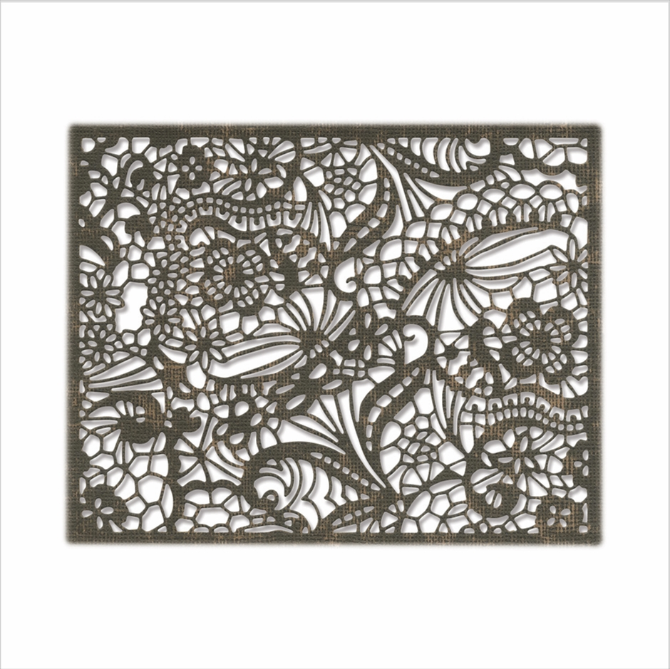 Tim Holtz Sizzix INTRICATE LACE Thinlits Dies 664181 zoom image
