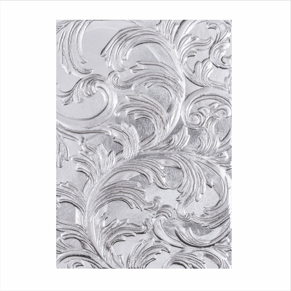 Tim Holtz Sizzix ELEGANT 3D Texture Fades Embossing Folder 664172 zoom image