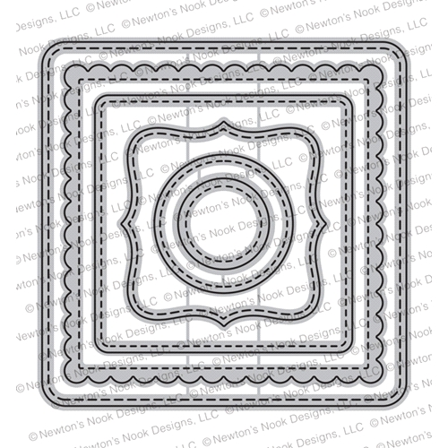 Newton's Nook Designs FRAMES SQUARED Dies NN1903D04 Preview Image