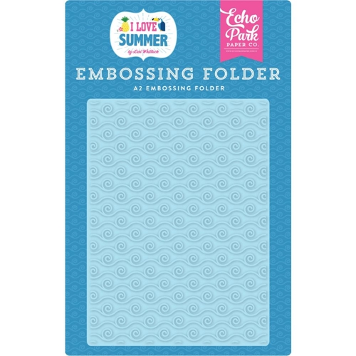 Echo Park RIDE THE WAVE Embossing Folder su178031 Preview Image