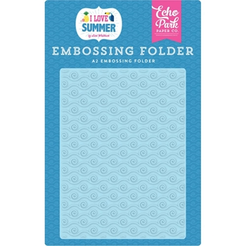 Echo Park RIDE THE WAVE Embossing Folder su178031