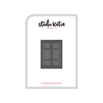Studio Katia EUROPEAN WINDOW Creative Dies sk1218-3