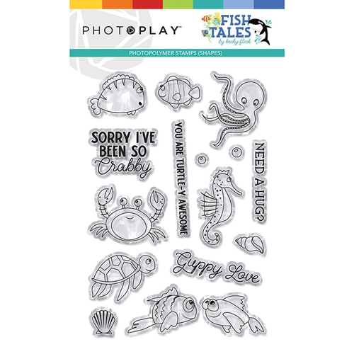 PhotoPlay FISH TALES ELEMENTS Clear Stamps fts9311 Preview Image