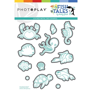 PhotoPlay FISH TALES ELEMENTS Die Set fts9312