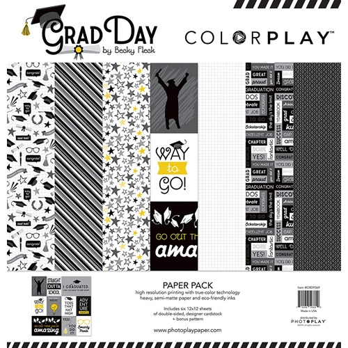 PhotoPlay GRAD DAY 12 x 12 Collection Pack ColorPlay grd9369 Preview Image