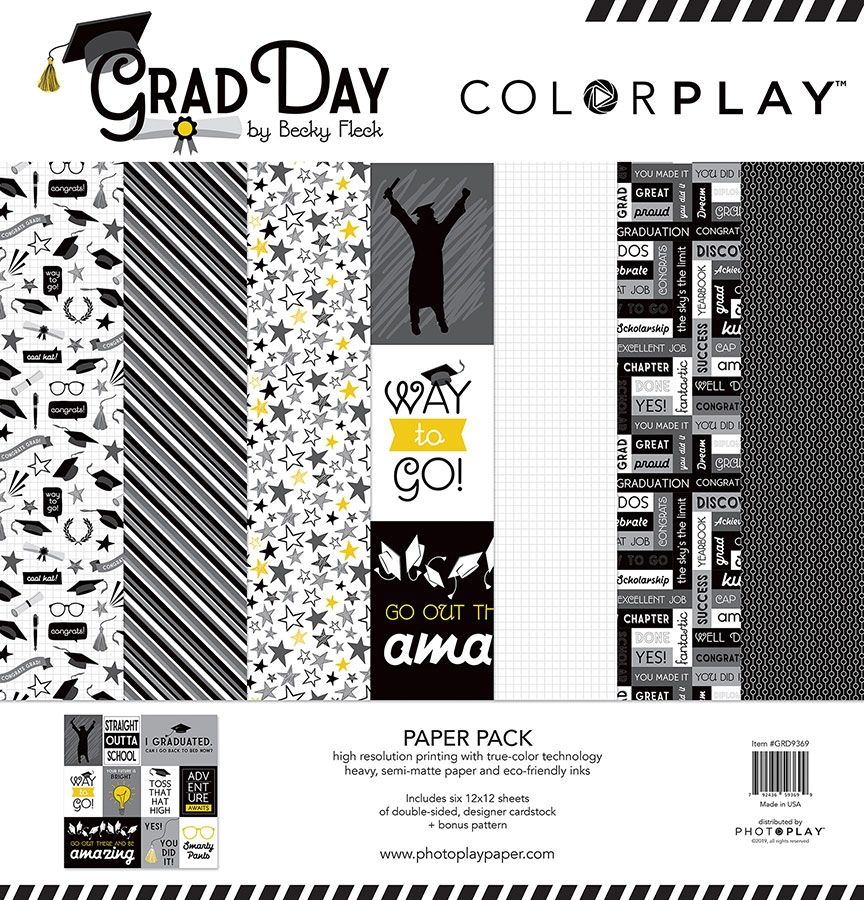 PhotoPlay GRAD DAY 12 x 12 Collection Pack ColorPlay grd9369 zoom image
