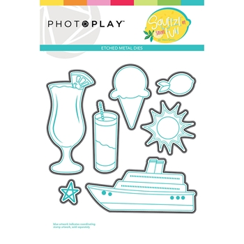 PhotoPlay SQUEEZE IN SOME FUN Die Set sqf9328