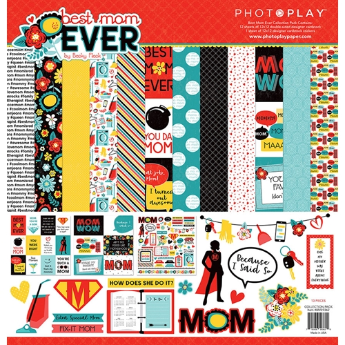 PhotoPlay BEST MOM EVER 12 x 12 Collection Pack bme9362 Preview Image