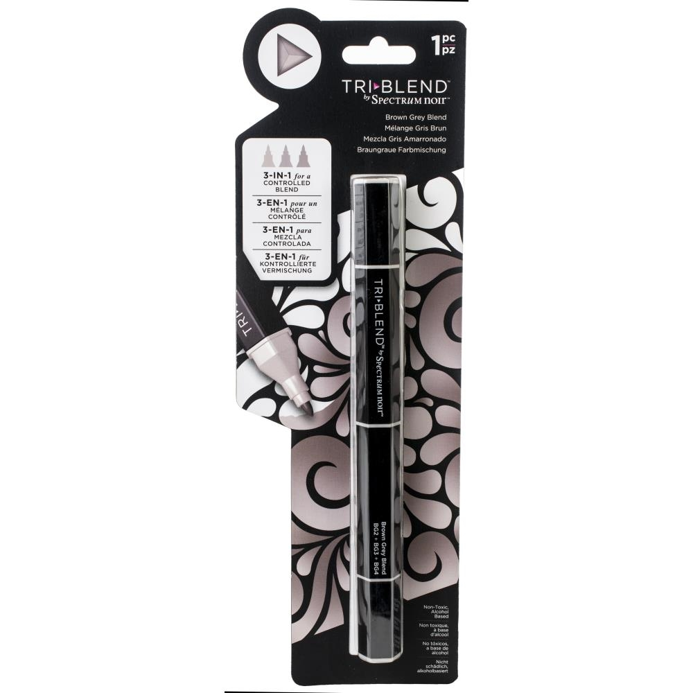 Crafter's Companion BROWN GREY BLEND Spectrum Noir TriBlend Marker sn-tble-bgbl zoom image