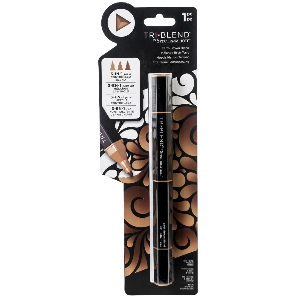 Crafter's Companion EARTH BROWN BLEND Spectrum Noir TriBlend Marker sn-tble-ebbl zoom image