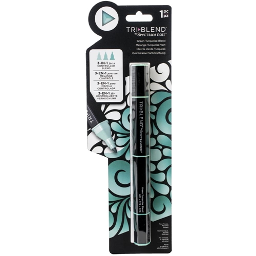 Crafter's Companion GREEN TURQUOISE BLEND Spectrum Noir TriBlend Marker sn-tble-gtbl Preview Image