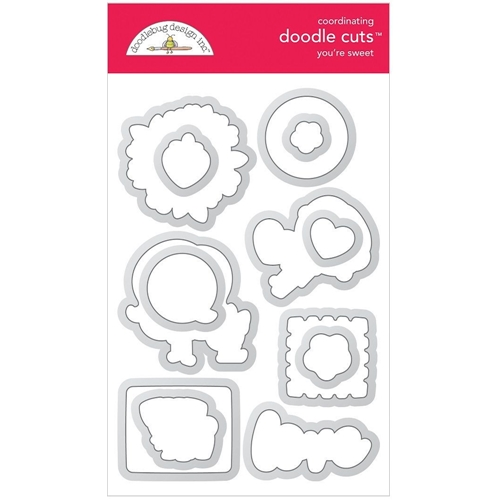 Doodlebug YOU'RE SWEET Doodle Cuts Dies 6328 Preview Image